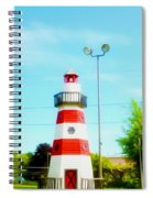 Colorful Lighthouse 2 Spiral Notebook