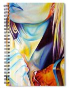 Colorful Love Spiral Notebook
