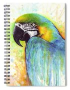 Macaw Painting Spiral Notebook