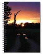 Colorful Mudholes Spiral Notebook