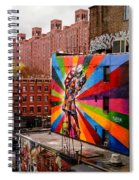 Colorful Mural Chelsea New York City Spiral Notebook