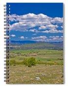 Colorful Nature Od Lika Region Spiral Notebook
