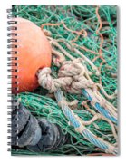 Colorful Nautical Rope Spiral Notebook