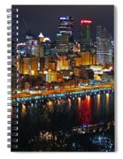 Colorful Night Spiral Notebook
