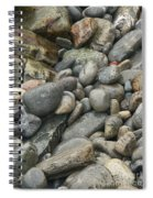 Colorful Ocean Rocks Spiral Notebook