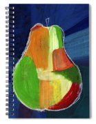 Colorful Pear- Abstract Painting Spiral Notebook