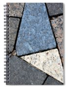 Colorful Rock Pavers Spiral Notebook