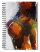 Colorful Seduction Spiral Notebook