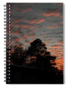 Colorful Sky Number 5 Spiral Notebook