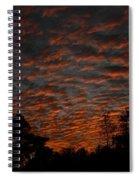 Colorful Sky Number 7 Spiral Notebook