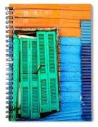 Colorful Slum Spiral Notebook