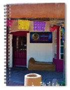 Colorful Store In Albuquerque Spiral Notebook