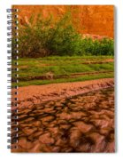 Colorful Streambed - Coyote Gulch - Utah Spiral Notebook