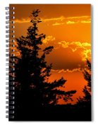 Colorful Sunset II Spiral Notebook