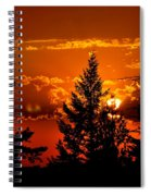 Colorful Sunset IIl Spiral Notebook