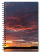 Colorful Sunset, Snaefellsnes Spiral Notebook