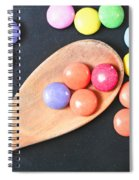 Colorful Sweets Spiral Notebook