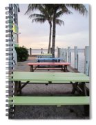 Colorful Tables Spiral Notebook