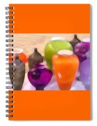 Colorful Vases I - Still Life Spiral Notebook