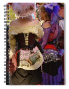 Colorful Wenches Spiral Notebook