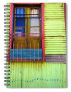 Colorful Window Spiral Notebook