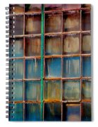 Colorful Windows  Spiral Notebook