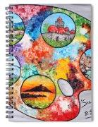 Colori Di Sicilia Spiral Notebook