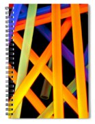 Coloring Between The Lines Spiral Notebook