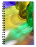 Coloring Bottles Spiral Notebook