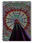 Colorized Dome Spiral Notebook