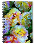 Colors And Roses Spiral Notebook