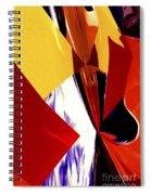 Colors And Shapes Spiral Notebook