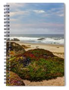 Colors And Texures Of The California Coast Spiral Notebook