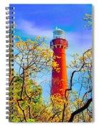 Colors At Barnegat Light Spiral Notebook