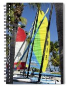 Key West Sail Colors Spiral Notebook