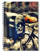 Colors In Snow Spiral Notebook