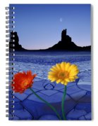 Colors In The Valley Spiral Notebook