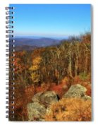 Colors Of Autumn In Shenandoah National Park Spiral Notebook