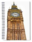 Colors Of Big Ben Spiral Notebook