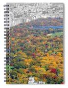 Colors Of Central Park Spiral Notebook