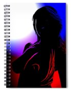 Colors Of Desire Spiral Notebook