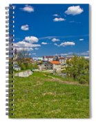 Colors Of Gospic Capital Of Lika Spiral Notebook