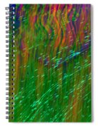 Colors Of Grass Spiral Notebook