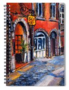 Colors Of Lyon 2 Spiral Notebook