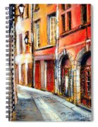 Colors Of Lyon 3 Spiral Notebook