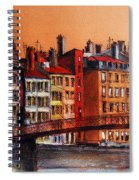Colors Of Lyon I Spiral Notebook