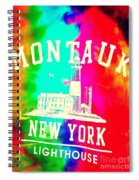 Colors Of Montauk Spiral Notebook