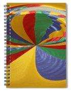 Colors Of Motion Spiral Notebook