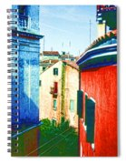 Colors Of My Village Spiral Notebook