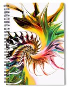 Colors Of Passion Spiral Notebook
